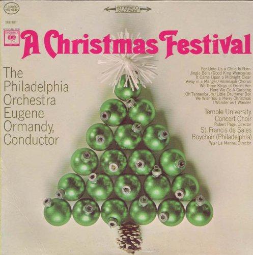 Eugene Ormandy Conducting the Philadelphia Orchestra: A Christmas Festival [Vinyl LP] [Stereo]