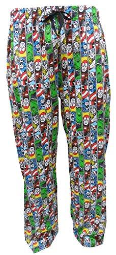 Marvel Comics Superheroes Men's Lounge Pajama Pants XL (Marvel Superheroes Pajamas compare prices)