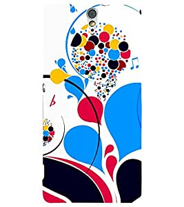 PRINTSWAG COLOURFUL PATTERN Designer Back Cover Case for SONY XPERIA C5 DUAL