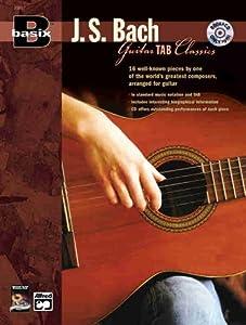 Basix Js Bach Guitar Tab Classics Basixr by Alfred Publishing Company