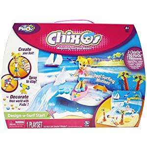 Chixos Design-a-Surf Star Playset