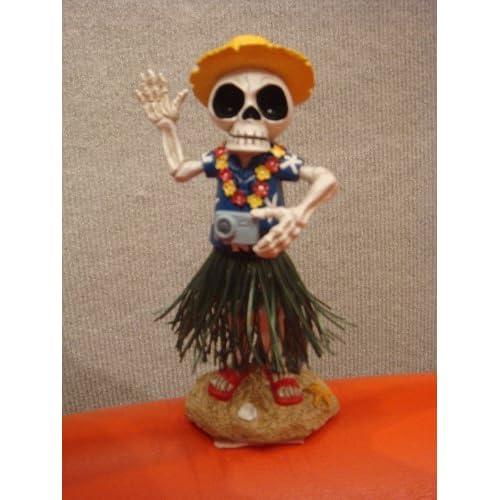 """Amazon.com: """"DEAD ED"""" HAWAII DASHBOARD SHAKER - BOBBLE HEAD HAWAIIAN"""