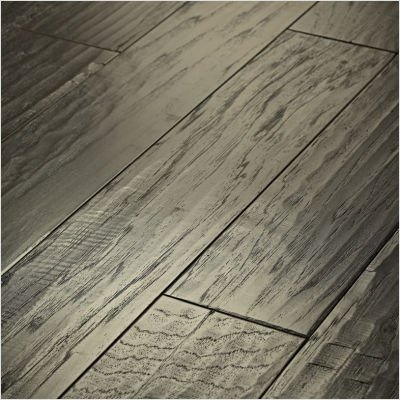 """Shaw Floors SW219-510 Epic Pebble Hill 5"""" Engineered Hickory in Stonehenge"""