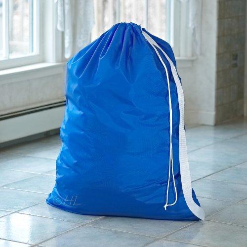 Nylon Laundry Bag With Shoulder Strap Royal Blue 30 Quot X