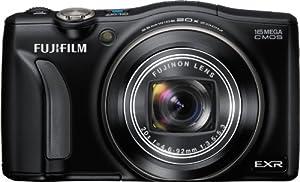 Fujifilm FinePix F770EXR 16 MP Digital Camera with 20x Optical Zoom (Black)