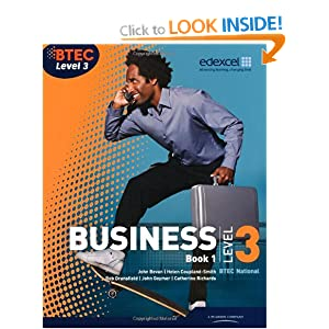 BTEC Level 3 National in IT 2011 PDF eBook