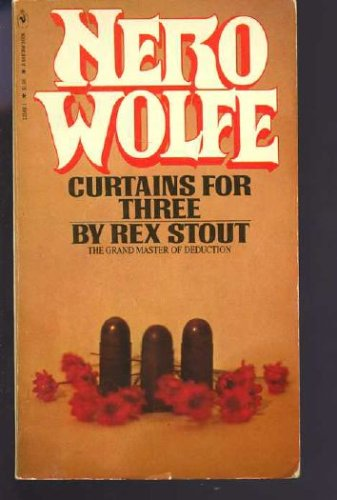 Curtains for three (A Nero Wolfe mystery), Rex Stout