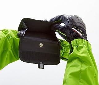 カワサキ KAWASAKI 純正 腕に装着可&素早く収納できる小物入れ カワサキアームバッグ ブラック J8911-0060