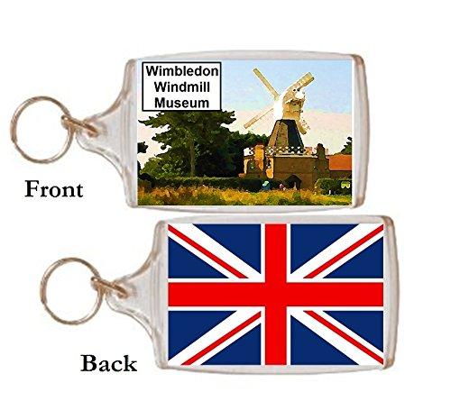 Schlüsselring Wimbledon Windmill Museum Geschenk Tourist Souvenir