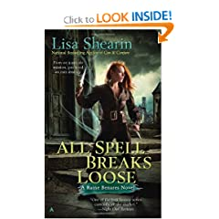 All Spell Breaks Loose (Raine Benares, Book 6) by Lisa Shearin