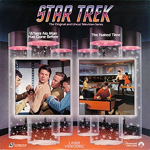 Laserdisc Star Trek The Original and Uncut TV Series WHERE NO MAN HAS GONE BEFORE and THE NAKED TIME episode 2 & 7. (The Originals Season 2 Episode 7 compare prices)