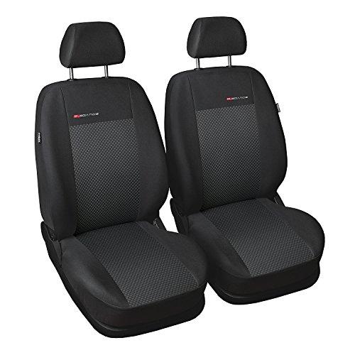 gsmarkt universal front grau sitzbez ge sitzbezug f r auto sitzschone auto dekor. Black Bedroom Furniture Sets. Home Design Ideas