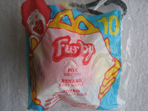 McDonalds Happy Meal Furby Plush Toy with key holder 2000 #10 - 1