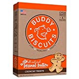 Buddy Biscuits Original Oven Baked Treats With Peanut Butter - 16 Oz. (Pack Of 6)