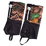 Lixada 2Pcs 2 Layers Outdoor Waterproof Camouflage Gaiters&Leggings for Hiking Hunting Walking Climbing