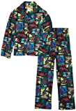 AME Sleepwear Boys 8-20 Spidey Spider Coat Pajama