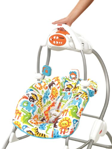 Imagen 4 de Baby Gear V4959 - Columpio-Hamaca 2 En 1 (Mattel)