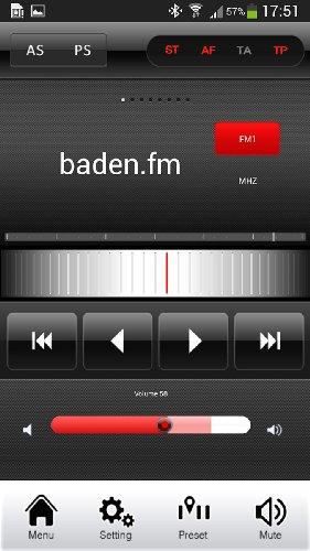 Creasono-Bluetooth-Autoradio-mit-7-Tablet-Halterung-CAS-4500tab