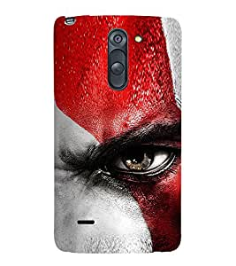 Vizagbeats Angry Eye Back Case Cover for LG G3 Stylus::LG G3 Stylus D690N::LG G3 Stylus D690