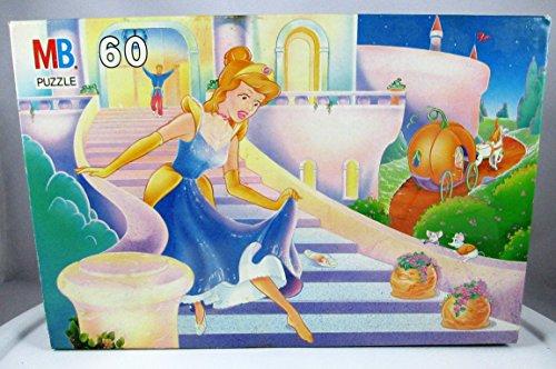 Milton Bradley Cinderella Storybook Puzzle - Vintage 1989 - 60 Pieces - 1
