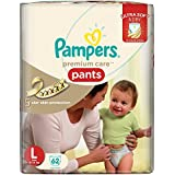 Pampers Premium Care Large Size Pants (62 Count)