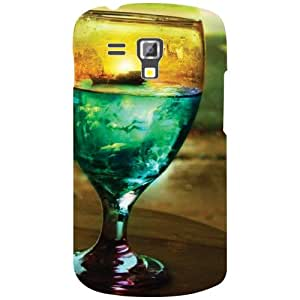 Samsung Galaxy S Duos 7562 Back Cover - Glass & Drink Designer Cases