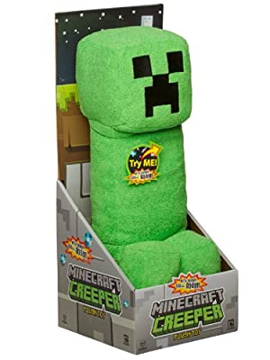 Minecraft Creeper Plush Toy With Sound from Jinx