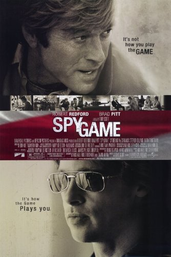 Spy Game Movie Poster Single Sided Original 27x40