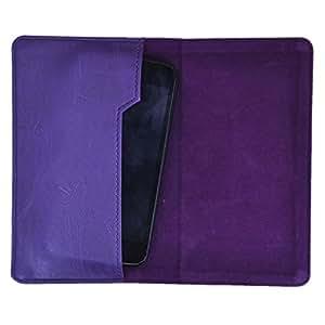 DCR Pu Leather case cover for Nokia Lumia 525 (purple)