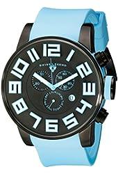 Swiss Legend Men's 30425-BB-01-BBLSA Airbourne Analog Display Swiss Quartz Blue Watch