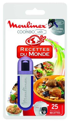 Moulinex XA600111 Clé USB Cookeo - 25 Recettes du Monde