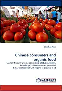 thesis organic food Organic food what is organic food how to fully understand the labels on organic foods what does the organic label mean why did we need regulation of organic.