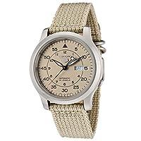 [セイコーインポート] SEIKO import 自動巻き 腕時計 海外モデル SNK803K2 ベージュ メンズ [逆輸入]