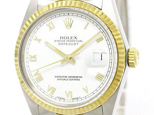 [ロレックス]ROLEX【ROLEX】ロレックス デイトジャスト 16013 イエローゴールド ステンレススチール 自動巻き メンズ 時計16013(BF107855)[中古]