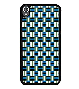 printtech Pattern check Back Case Cover for HTC Desire 820::HTC Desire 820Q::HTC Desire 820S