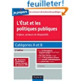 L'Etat et les politiques publiques - 2e éd. - Catégories A et B - concours IRA