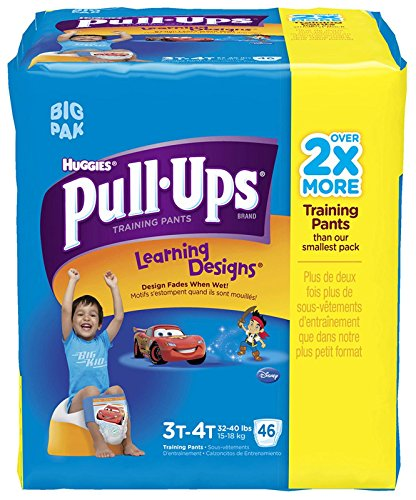 Huggies Pull-Ups Training Pants - Learning Designs - Boys - 3T-4T - 46 ct