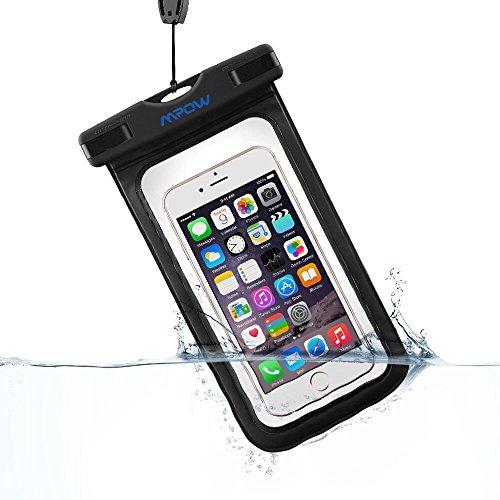 Mpow スマートフォン用防水・防塵ケース iPhone6S/6S Plus/6 Samsung GalaxyS6などに対応 アウトドア潜水/温泉/釣り/お風呂/水泳など用の防水袋