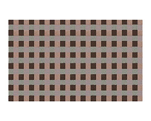 The Rug Market Synergy Brown Area Rug  Size 5'x8'