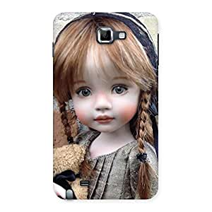 Cuty Girl Angel Back Case Cover for Galaxy Note