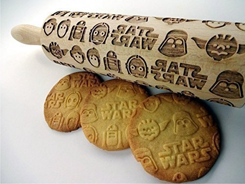 star-wars-embossing-rolling-pin-wooden-embossing-rolling-pin-with-star-wars-pattern