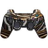 Robot Parts Design Print Image Ps3 Dual Shock Wireless Controller Vinyl Decal Sticker Skin By Trendy Accessories