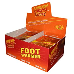 Heat Factory Toe and Foot Warmers, Box of 40 Pairs by Heat Factory
