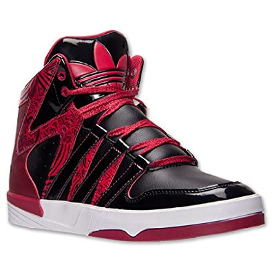Ladies adidas Originals Court Femme Casual Shoes basketball sneakers RED by adidas Originals