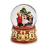 Nutcracker with Jeweled Base Water Globe by San Francisco Music Box