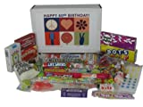 60th Birthday Gift Box Peace & Love Retro Candy- Jr.