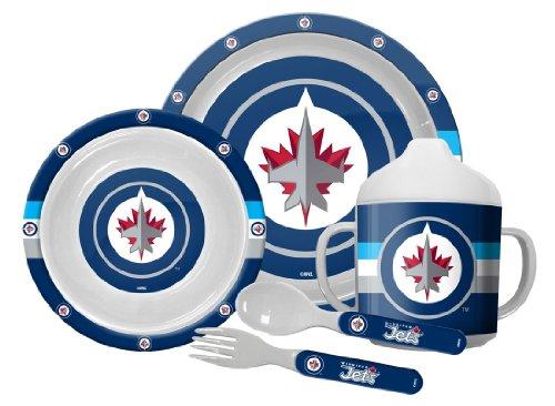 Winnipeg Jets 5-Piece Baby Dinner Set