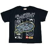 Lego Star Wars Little Boys Millennium Falcon Graphic T Shirt