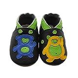Sayoyo Suaves Zapatos De Cuero Del Beb� Zapatillas oso