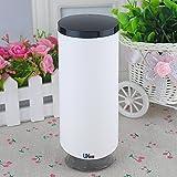 UName Mousses Foaming Soap Pump Dispenser-White with Black Trim UN094
